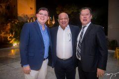 Vitor Cavalcante, Pedro Alfredo e Carlos Fujita