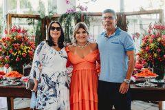 Ana Flávia, Gisela Vieira  e Lauro Chaves