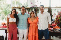 Mayara e Daniel Moura, Gisela Vieira e Evandro Ayres de Moura Neto