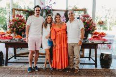 Ivens Neto,  Lissa Dias Branco, Gisela e Herbert Vieira e