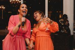 Solange Almeida e Gisela Vieira