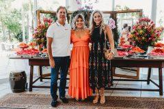 Artur Magalhães, Gisela Vieira e Célia Magalhães
