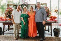 Herbert Vieira, Graça da Escóssia, Gisela Vieira e Ricardo Ayres de Moura
