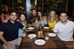 David Rolim, Bruna Anastásio, Victor Toscana, Jamile Pinheiro, Jayane Pontes e Claus Pontes
