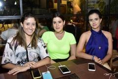 Dulce Andrade, Rebeca Santos e Mariana Moreira