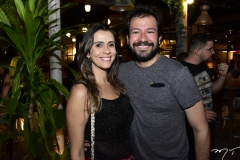 Gisele Caminha e Felipe Bueno
