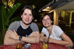 Isaac Coimbra e Louise Benevides
