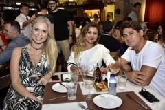 Luciana Pereira, Clarina Ramos e Celmo Macedo