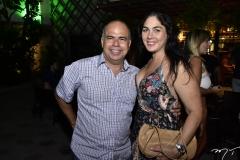 Márcio Menezes e Izabela Fiúza