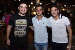 Stenio Bastos, Manoel Ribas e Caio Galvão