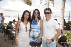Ana Virgínia Martins, Vivian e Ronaldo Barbosa