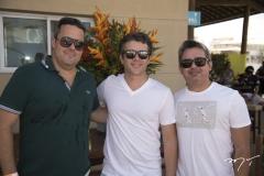 André Aguiar, Ronaldo Barbosa e Bertrand Girão