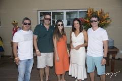 Bertrand Girão, André Aguiar, Mila Moreira, Ana Virgínia Martins e Ronaldo Barbosa