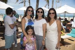 Caterine e Vivian Barbosa, Neusa Rocha e Ana Virgínia Martins