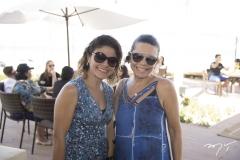 Hadjanne Almeida e Lilian Porto