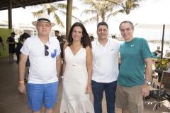 Romel Barbosa, Ana Virgínia Martins, Rômulo Vasconcelos e Rogério Resende