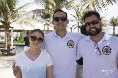 Sâmia Vieira, Ivan Costa e Pedro Ruan