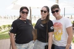 Sandra, Flávia e Fernando Jadoski