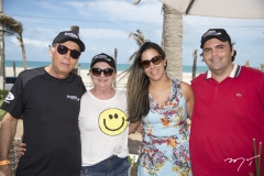 Stenio Aires, Marilane Batista, Juliana Queiroz e Iuri Batista