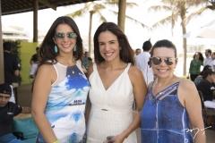 Vivian Barbosa, Ana Virgínia Martins e Lilian Porto