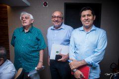 Arimateia Gonçalves, José Leite e Diassis Diniz