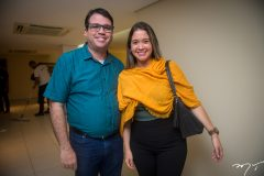 Lúcio Filho e  Ana Martins