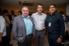 Marcos Soares, André Siqueira e Marcos Cardeal