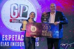Carol Palácio e Marcelo Pitanga
