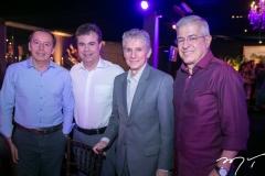 Ildefonso Rodrigues, Duda Brígido, Pádua Lopes e Paulo César Norões