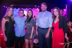 Mariana Matos, Elias Leite, Carol Castro, Rafael Rodrigues e Adamir Macedo