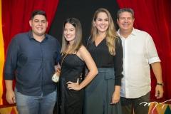 Pedro Santos, Ana Luiza Nolato, Nivana e Bob Santos