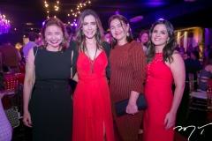 Renata Regueira, Adamir Macedo, Cláudia Regueira e Livia Medeiros