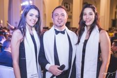 Adriane Moreno, Franklin Dantas e Patrícia Oliveira