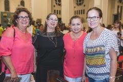 Monalisa Gurgel, Consueda Azevedo, Etelvina Rios e Iranir Rocha