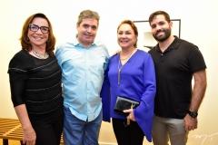 Ana Lúcia Wolf, Totonho Laprovitera, Paula Frota e Felipe Rocha
