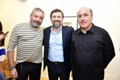 Cláudio Silveira, Élcio Batista e Silvio Frota