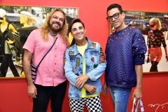 Jorge Thadeu, Jorgiano Azevedo e George Delameda