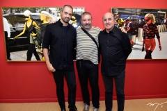 Léo Faria, Cláudio Silveira e Silvio Frota