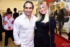 Lorendar Bernute e Janice Brandão