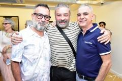 Mário Queirós, Cláudio Silveira e José Augusto Fabron