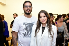Renan Oliveira e Larissa Queiroz