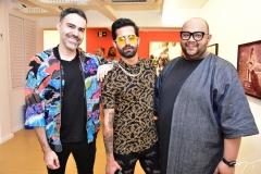 Thiago Malva, Danillo Costa e Fernando Macman