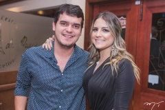 Breno Cysne e Júlia Alves