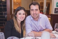 Cecília e Carlos Alberto Queiroz