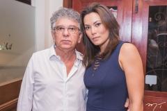 Maurício Cysne e Hélia Viana