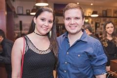 Mirella Prado e Marcelo Porto