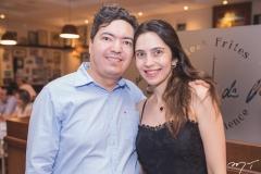 Roger Catunda e Nídia Almeida