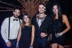 Bruno Moreira, Izabela Baltazar, Emanuel Maia e Izabele Lima