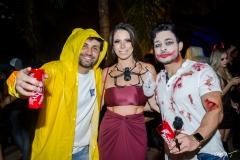Fabio Makaron, Lina Frank e Carlos Silva