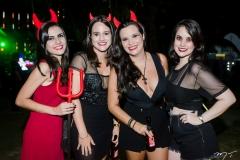 Izadora Queiroz, Renata Montenegro, Naiara Macedo e Sarah Rodrigues